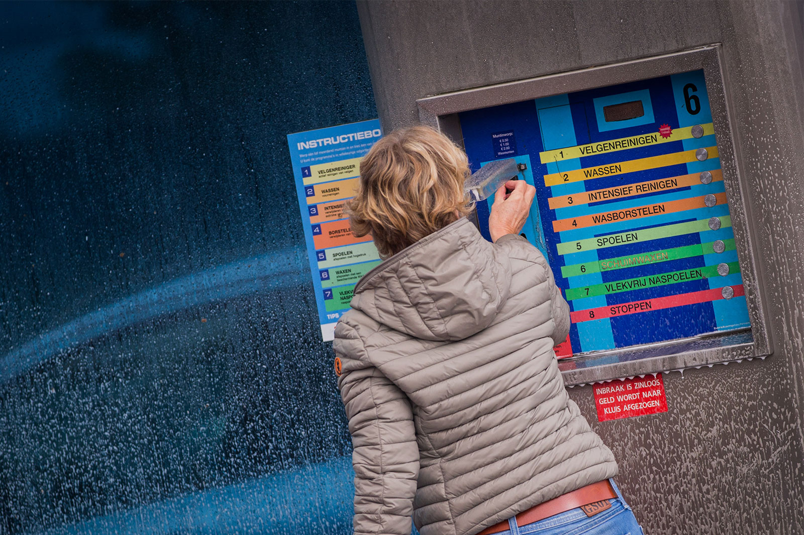 Washnet Hilversum wasboxen carwash bouw, installatie en onderhoud